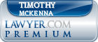 Timothy J. McKenna  Lawyer Badge