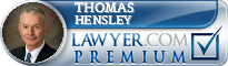Thomas R Hensley  Lawyer Badge
