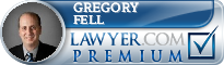 Gregory B. Fell  Lawyer Badge