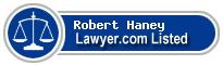 Robert Haney Lawyer Badge