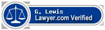G. Michael Lewis  Lawyer Badge
