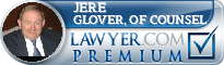Jere W. Glover, Of Counsel  Lawyer Badge
