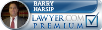 Barry S. Harsip  Lawyer Badge