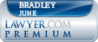 Bradley O. June  Lawyer Badge