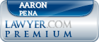 Aaron Pena  Lawyer Badge