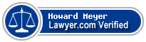 Howard J. Meyer  Lawyer Badge
