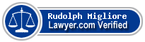 Rudolph F. X. Migliore  Lawyer Badge