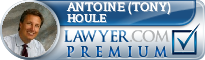 Antoine (Tony) F. Houle  Lawyer Badge