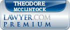 Theodore P. McClintock  Lawyer Badge