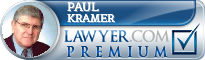 Paul R. Kramer  Lawyer Badge