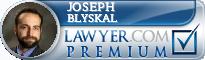 Joseph J. Blyskal  Lawyer Badge