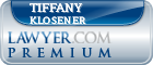 Tiffany B. Klosener  Lawyer Badge