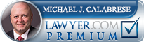 Michael J. Calabrese  Lawyer Badge