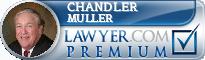 Chandler R. Muller  Lawyer Badge