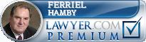 Ferriel C. Hamby  Lawyer Badge