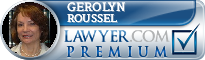 Gerolyn Petit Roussel  Lawyer Badge