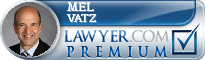 Mel Vatz  Lawyer Badge