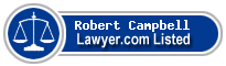 Robert Campbell Lawyer Badge