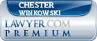 Chester J. Winkowski  Lawyer Badge