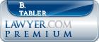 B. Bronson Tabler  Lawyer Badge