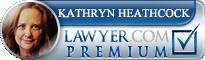 Kathryn A. Heathcock  Lawyer Badge