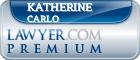 Katherine D. Carlo  Lawyer Badge