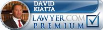 David William Kiatta  Lawyer Badge