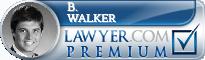B. George Walker  Lawyer Badge