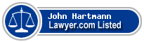 John Hartmann Lawyer Badge