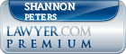 Shannon L. Peters  Lawyer Badge