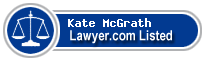 Kate McGrath Lawyer Badge