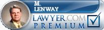 M. Thomas Lenway  Lawyer Badge