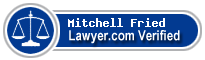 Mitchell I. Fried  Lawyer Badge