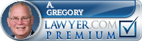 A. Peter Gregory  Lawyer Badge