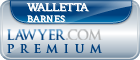 Walletta Barnes  Lawyer Badge