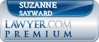 Suzanne R. Sayward  Lawyer Badge