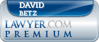 David S. Betz  Lawyer Badge