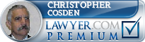 Christopher E. Cosden  Lawyer Badge