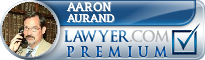 Aaron L Aurand  Lawyer Badge