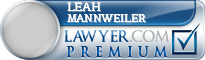 Leah S. Mannweiler  Lawyer Badge