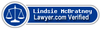Lindsie N. McBratney  Lawyer Badge