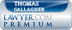 Thomas W. Gallagher  Lawyer Badge