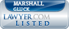 Marshall Gluck Lawyer Badge