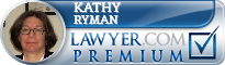 Kathy Pett Ryman  Lawyer Badge