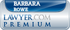 Barbara H Rowe  Lawyer Badge