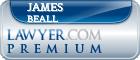 James E. Beall  Lawyer Badge
