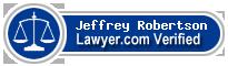 Jeffrey A. Robertson  Lawyer Badge