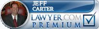 Jeff Carter  Lawyer Badge