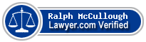 Ralph C. McCullough  Lawyer Badge