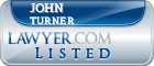 John Turner Lawyer Badge